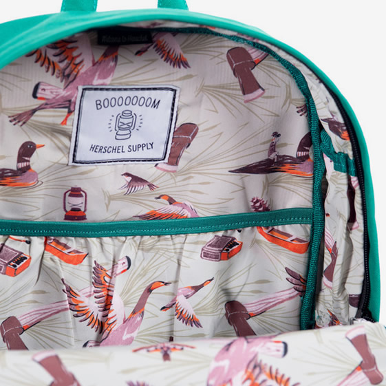 The Herschel Supply x Booooooom Heritage backpack: herschelbooooooom1.jpg