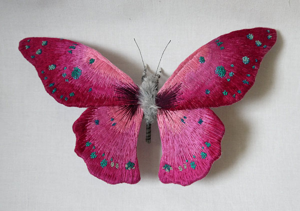 Colorful Handmade Textile Winged Creatures: butterflies005.jpg