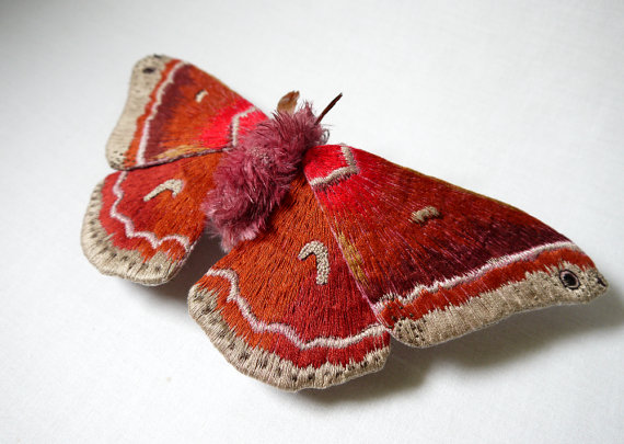 Colorful Handmade Textile Winged Creatures: butterflies018.jpg