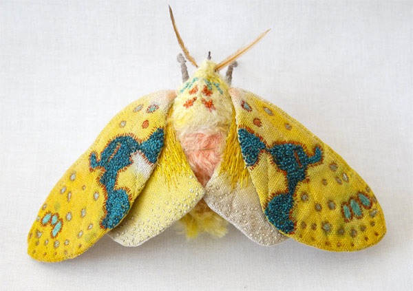 Colorful Handmade Textile Winged Creatures: butterflies019.jpg