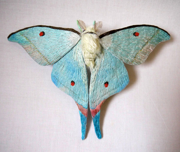 Colorful Handmade Textile Winged Creatures: butterflies020.jpg