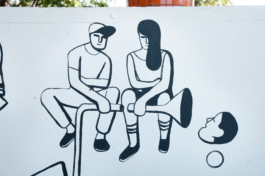 Geoff McFetridge Mural @ West LA Courthouse (with help from NIKE SB): mural-13.jpg