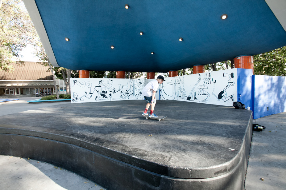 Geoff McFetridge Mural @ West LA Courthouse (with help from NIKE SB): mural-16.jpg