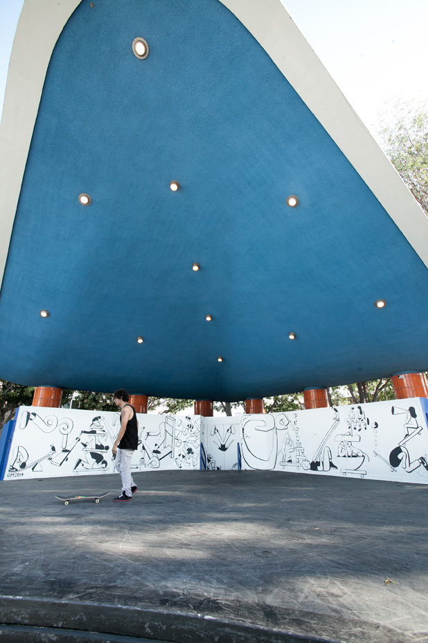 Geoff McFetridge Mural @ West LA Courthouse (with help from NIKE SB): mural-17.jpg