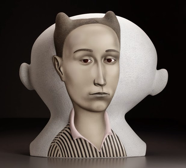 New Ceramic Work By Sergei Isupov: sergei+isupov+3.jpg
