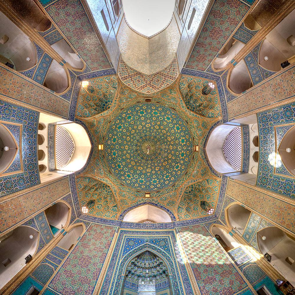 Kaleidoscope Views of the Middle East's Mosques: JuxtapozMosque01.jpg