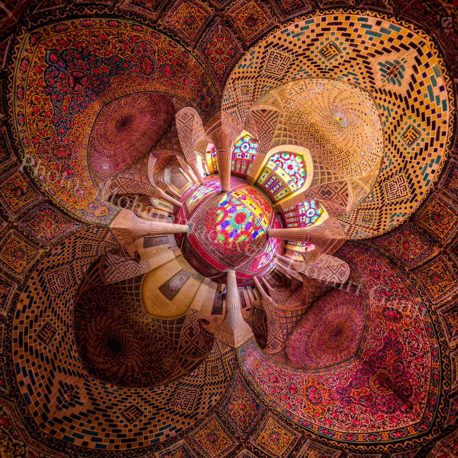 Kaleidoscope Views of the Middle East's Mosques: JuxtapozMosque04.jpg