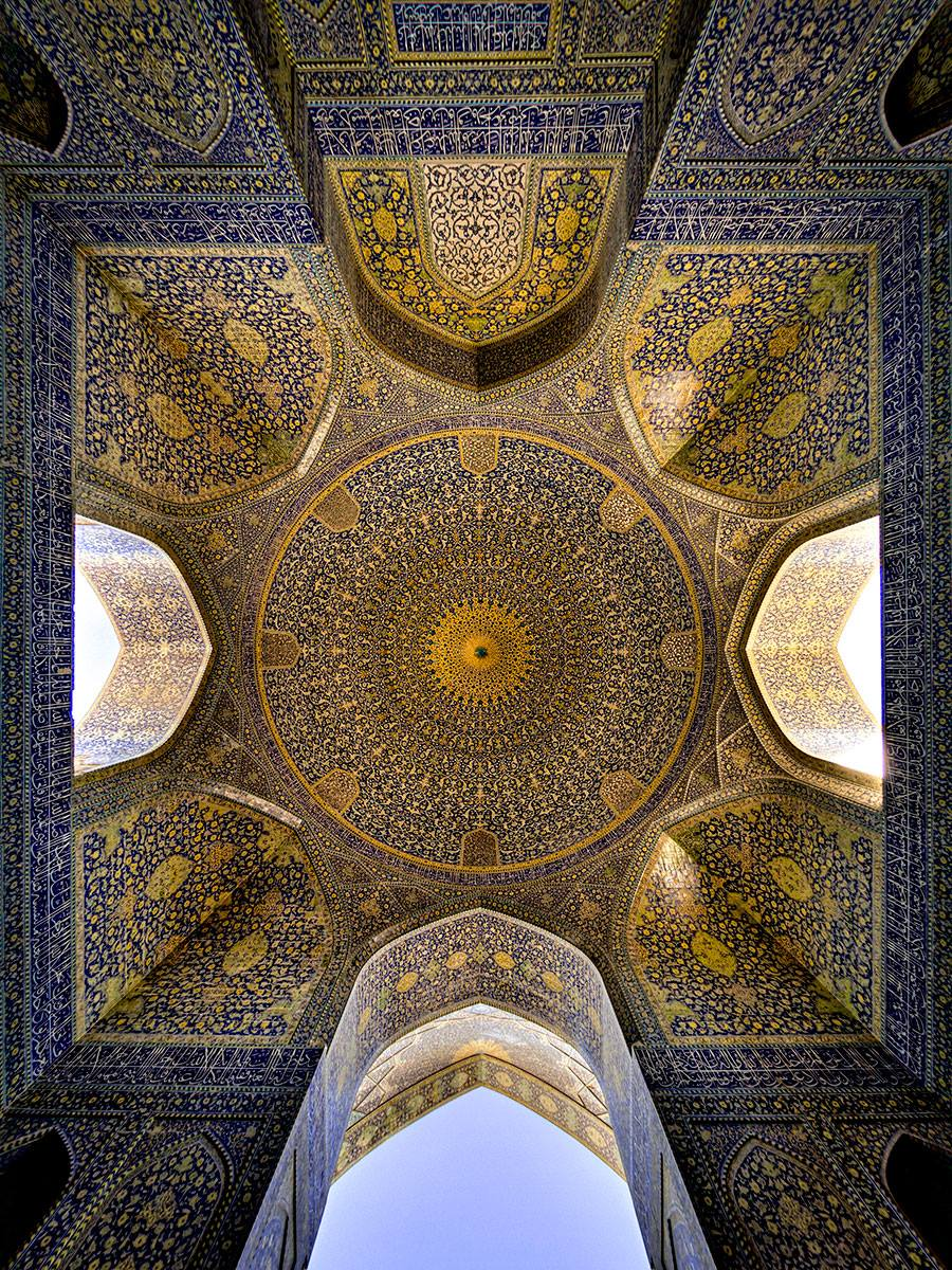 Kaleidoscope Views of the Middle East's Mosques: JuxtapozMosque09.jpg