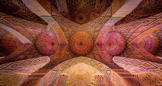 Kaleidoscope Views of the Middle East's Mosques: JuxtapozMosque19.jpg