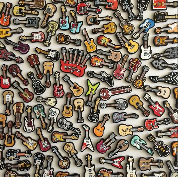 "Matt Ritchie ""Conferno"" @ Spoke Art, San Francisco: 100 Guitars.png"