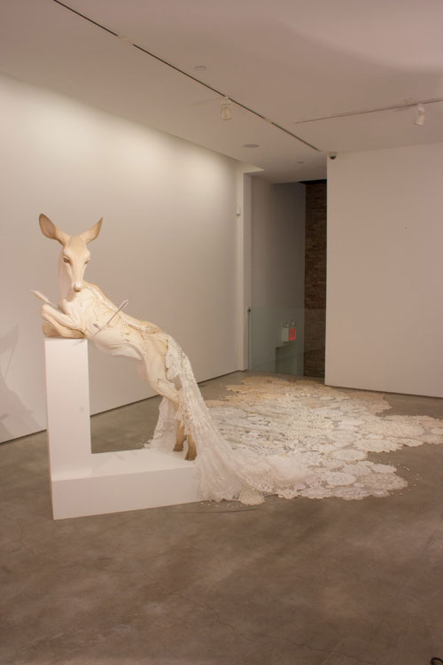 Ceramic Sculptures by Beth Cavener Stichter: tumblr_mhwb5r9REY1rdgexeo7_500.jpg