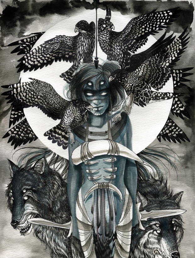 Recent Works from Chelsea Brown: 21_peregrinewoman.jpg