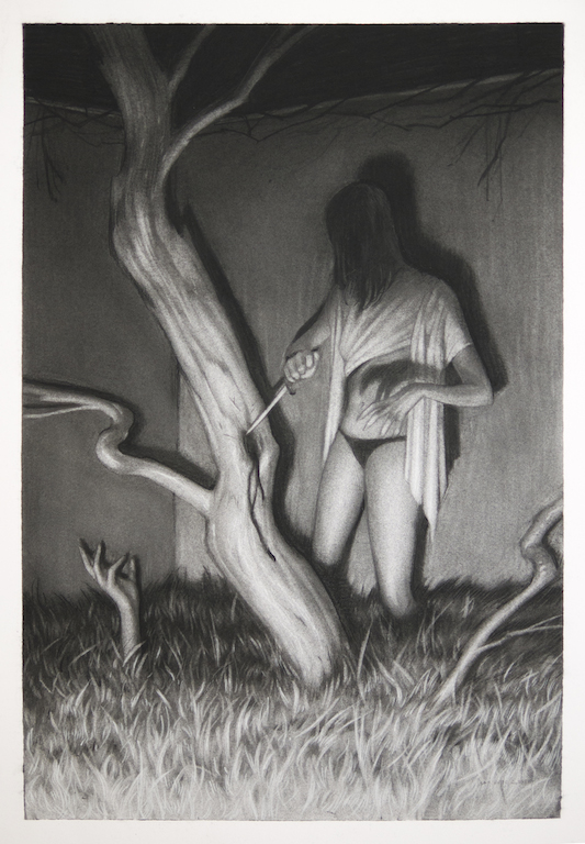 """Lore"" @ Hashimoto Contemporary, SF: 021_witchofbranches.jpg"