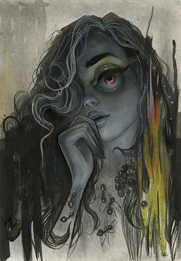 Tatiana Suarez: The Eyes Have it: Sting.jpg