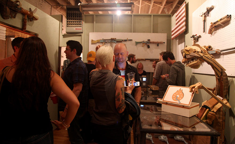 """Janky Donuts"" @ Lot F Gallery, Boston: Juxtapoz-JankyDonuts000.jpg"