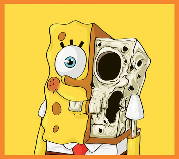 "Mahmoud Rafaat's ""Cute Yellow"": Mahmoud-Refaat-Cute-Yellow-spongebob-580x516.jpg"