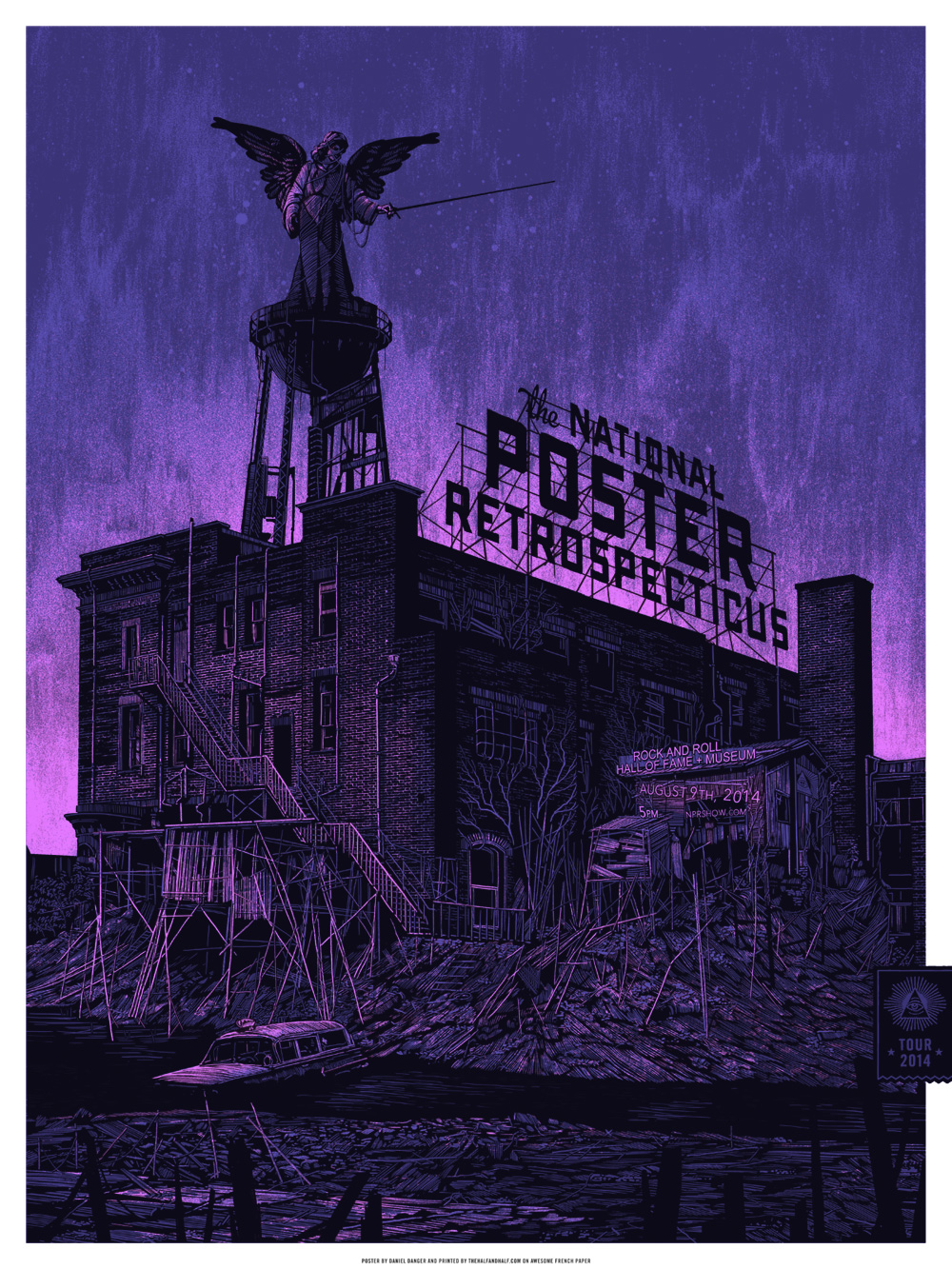 The National Poster Retrospecticus @ Cotton Candy Machine, Brooklyn: The-NPR-Rock-Hall-Daniel-Danger.jpg