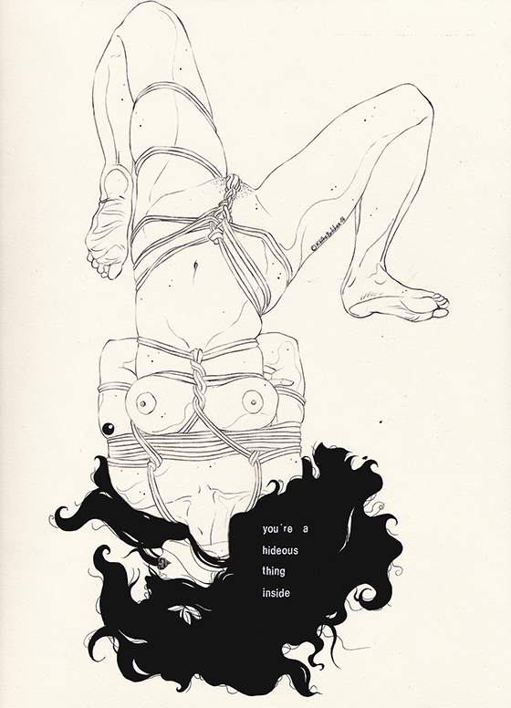 Kaethe Butcher's Playful Drawings: tumblr_n8vi89Ks051sj1vz2o1_1280.jpg