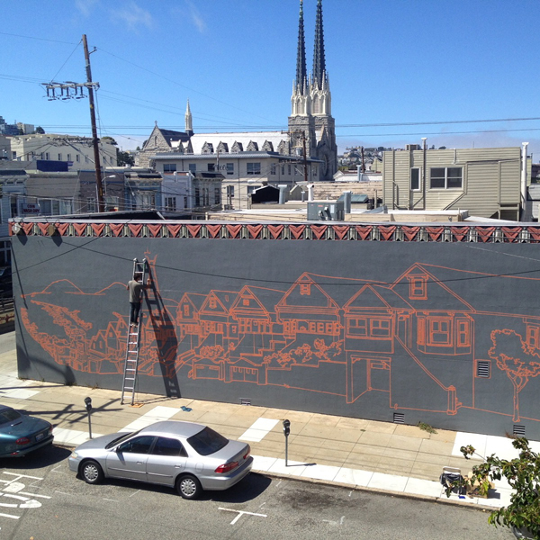 New Mural by Amos Goldbaum in San Francisco: Amos001.jpg