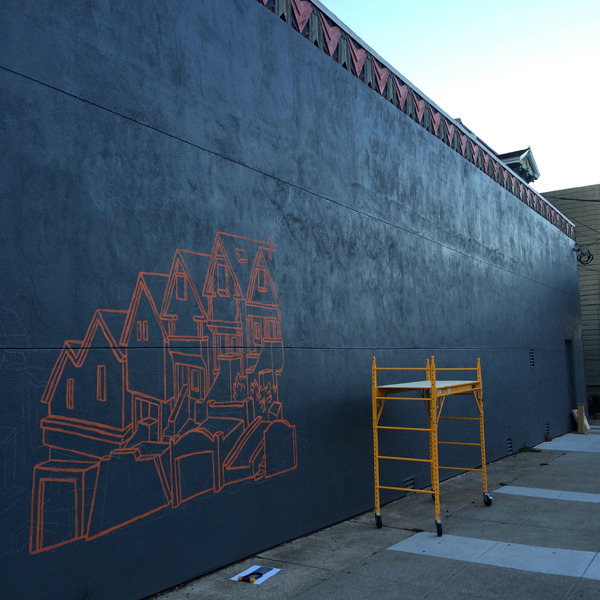 New Mural by Amos Goldbaum in San Francisco: Amos003.jpg