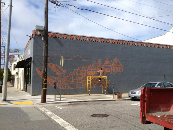 New Mural by Amos Goldbaum in San Francisco: Amos004.jpg