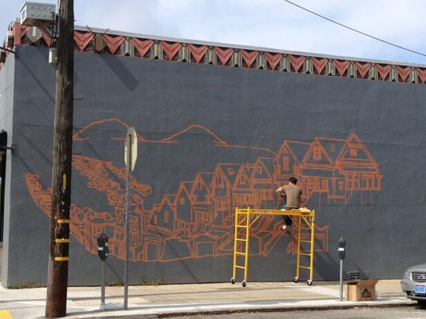 New Mural by Amos Goldbaum in San Francisco: Amos005.jpg