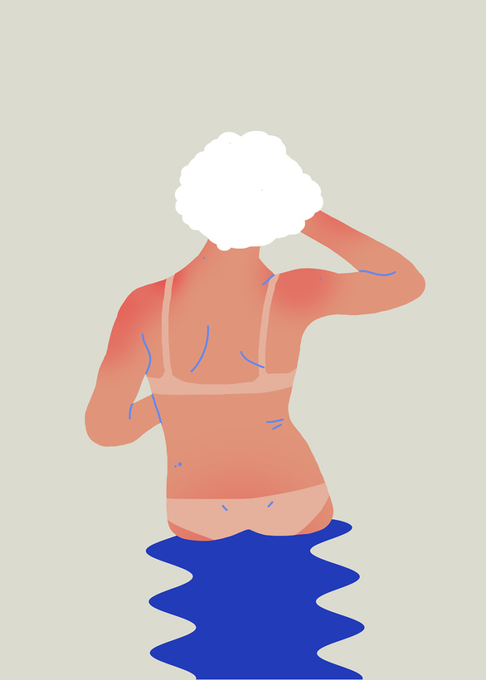 Sara Andreasson's Summertime Illustrations: SaraAndreasson_Tanlines2_web_700.jpg