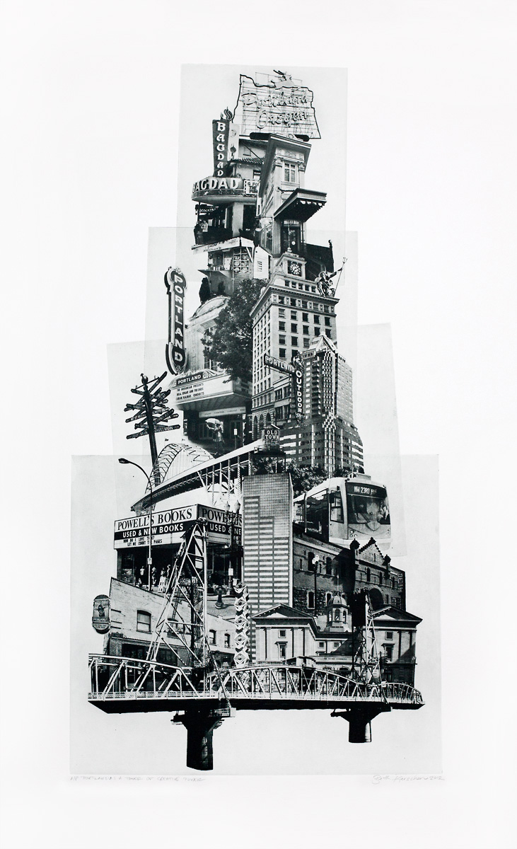 Smoke & Mirrors @ Marcas Contemporary Art: Tower of Creative Power_photographic etching (polymer photogravure)_31x20.jpg