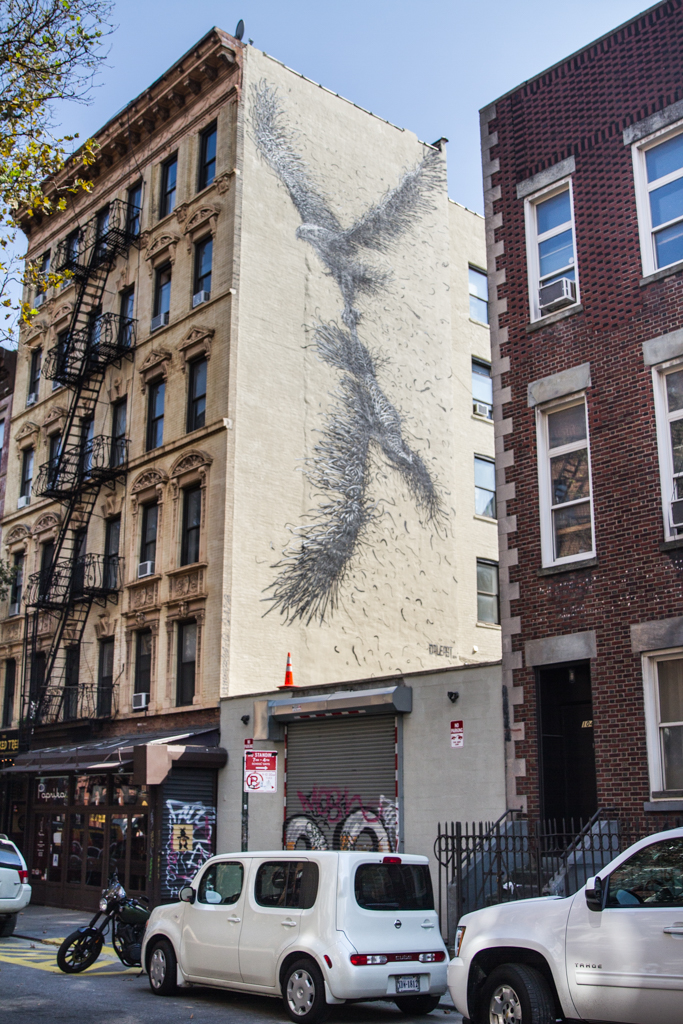 Dal East Mural in Lower East Side New York