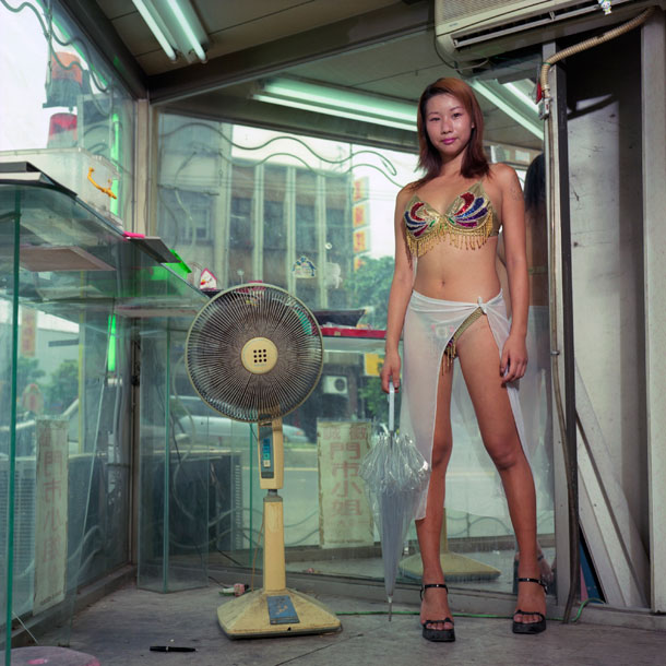 Juxtapoz Magazine - Photographing Taiwan's Betel Nut Girls with Chen