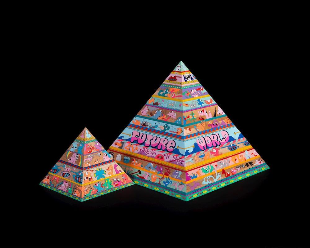 Graffiti Piramis