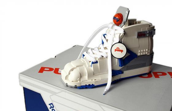 LEGO Reebok Pump by Alex Jones