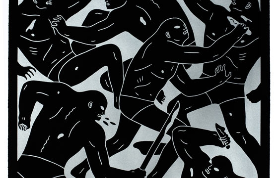 "Cleon Peterson ""Masters of War"" Print: Silver and Gold Edition"