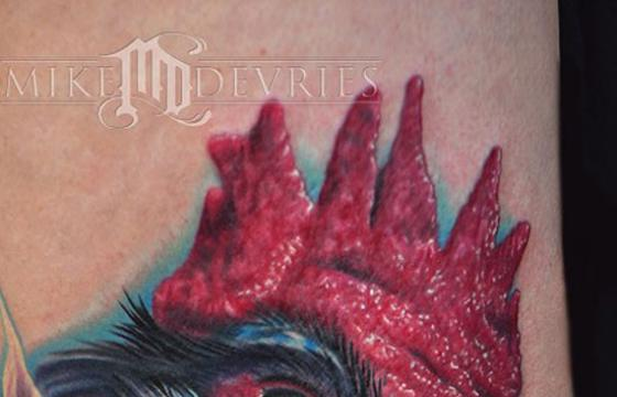 Mike DeVries' Animal Tattoos