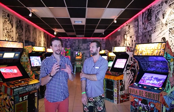 "video: Inside the FAILE BÄST ""Deluxx Fluxx"" Arcade"