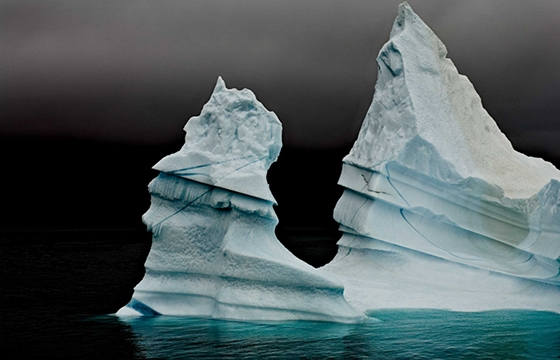 Camille Seaman's stunning 10 year photographic exploration of our disappearing icebergs