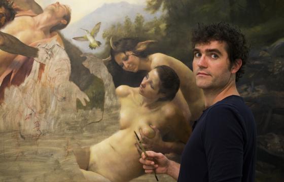Adam Miller: A Painter of Contemporary Epics