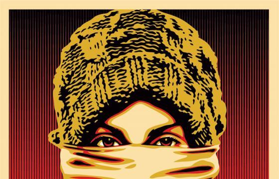 "Shepard Fairey ""Occupy Protestor"" Print"