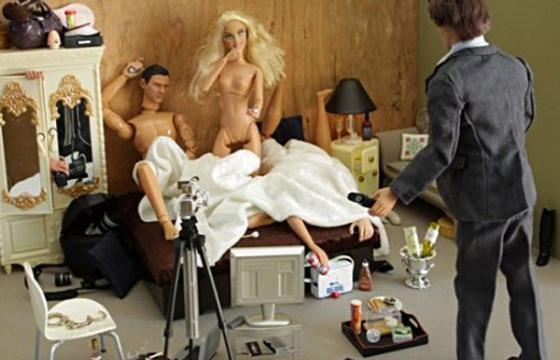 In Erotica: Mariel Clayton's Barbie World