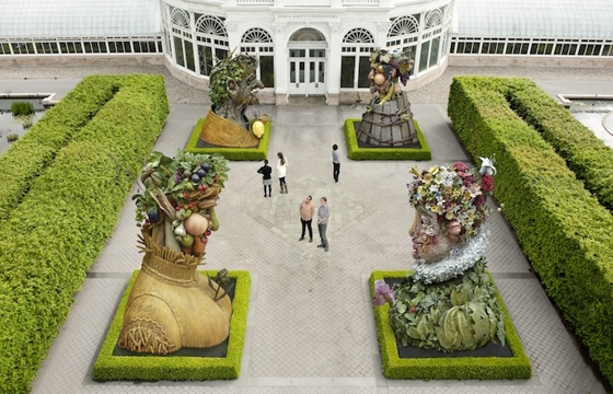 Four Sculptures Represent the Seasons @ New York Botanical Gardens