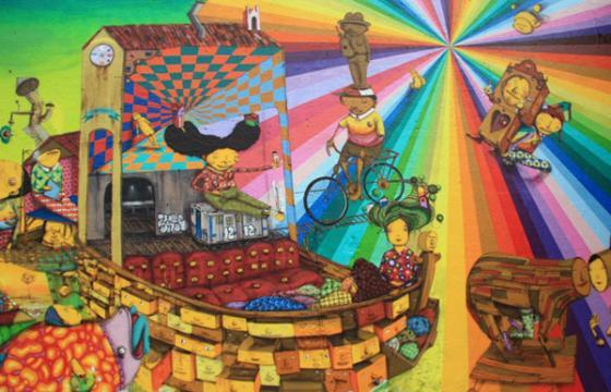 Os Gemeos @ Institute Of Contemporary Art/Boston