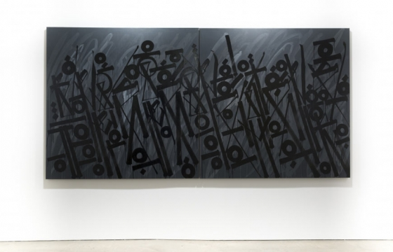 "RETNA ""ARTICULATE & HARMONIC SYMPHONIES OF THE SOUL"" @ Hoerle-Guggenheim Gallery, NYC"