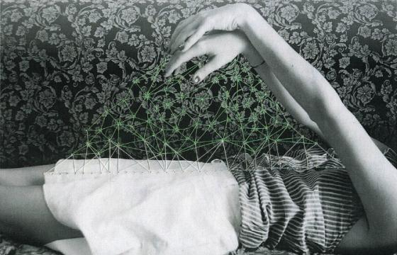 Stitching on Photographs by Maria Aparico Puentes
