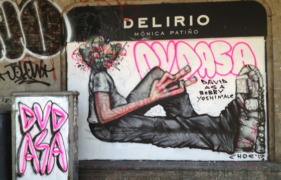 David Choe Update: Mexico City Collab with Dhear, and South Central LA Project