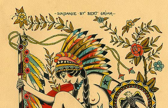 Bert Grimm's Iconic Tattoo Flash