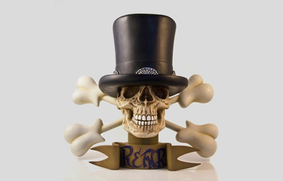 Ron English x Slash sculpture