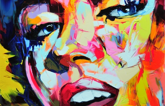 Vibrant Palette Knife Paintings by Françoise Nielly