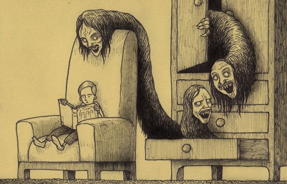 John Kenn's Monster Drawings