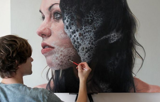 Hyperreal Paintings by Kyle Barnes