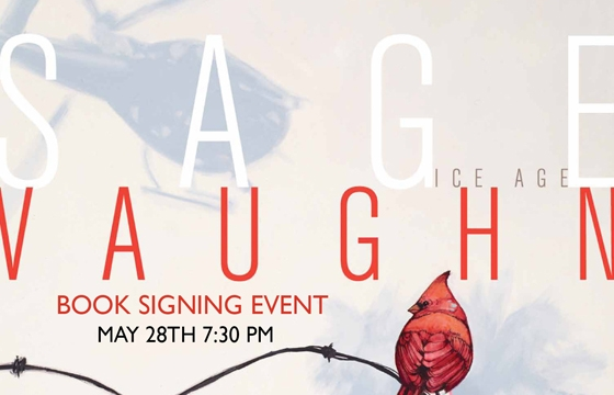 Sage Vaughn Book Release + Signing @ Skylight Books, LA